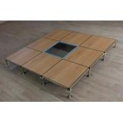 PVC木纹防静电地板-PVC木纹活动架空地板厂家-江苏亚豪15189712222