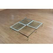 玻璃防静电地板-玻璃架空活动地板厂家-江苏亚豪15189712222